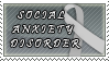 Social Anxiety Disorder Stamp