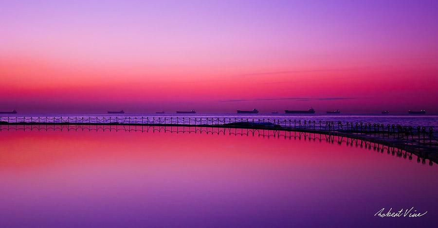Morning Reflection 2 by robertvine