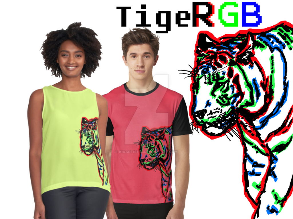 TigeRGB by KidArtist14