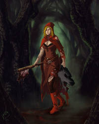 Red Riding Hood by BenjaminGalley