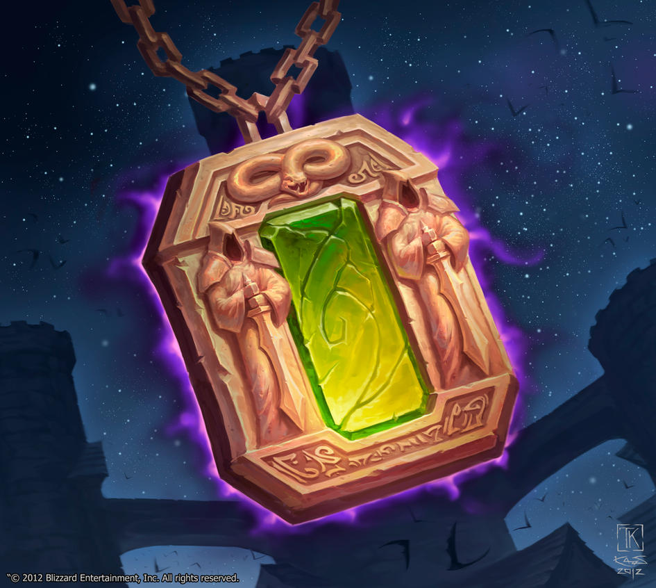 Dark Portal Hearth Stone by KAaSTuroveC