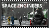 Space Engineers Stamp by tonystardreamer