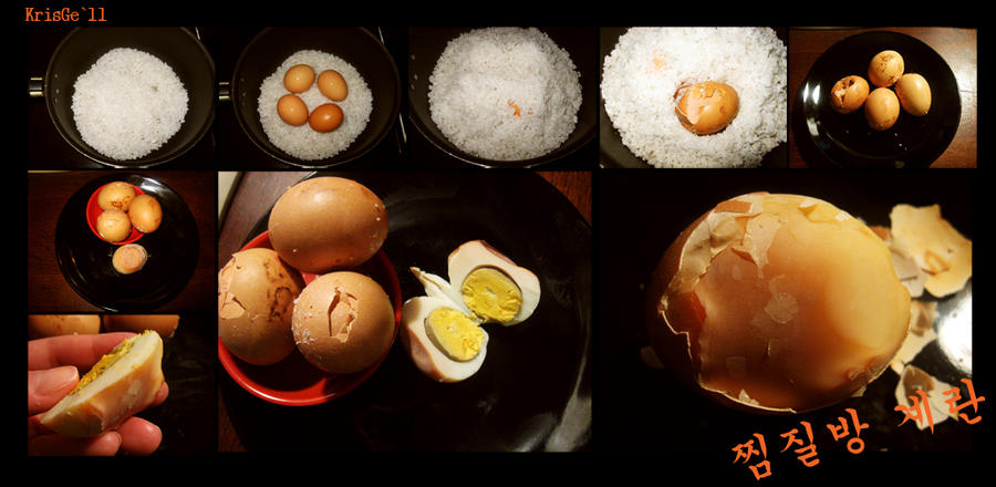 korean sauna eggs by SoshinaAi