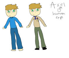 Axel ref(main protag of hike) by Adrianepicl