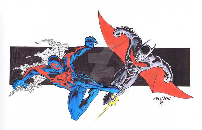 DC vs Marvel Fan Art