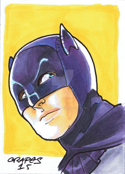 Batman 1966 by wjgrapes