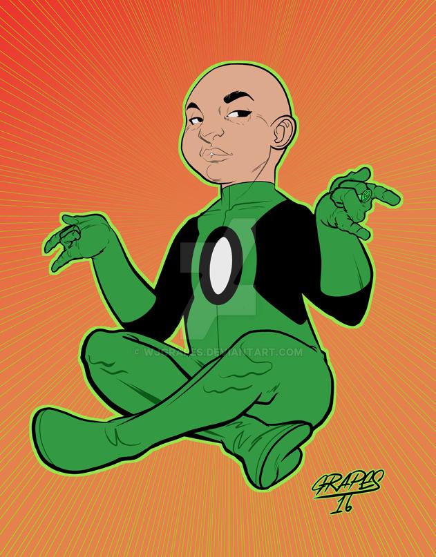 Green Lantern - Kai-Ro by wjgrapes