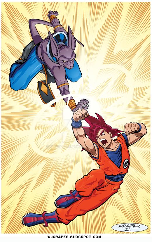 Dragon Ball Z by wjgrapes