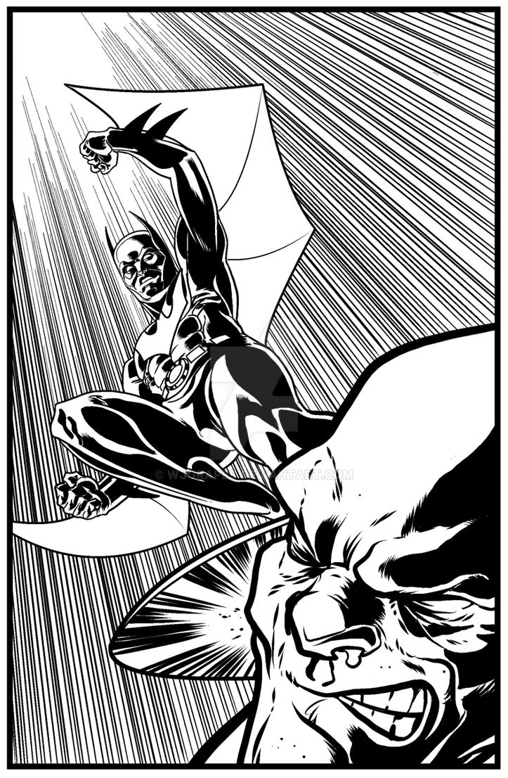 Batman Beyond by wjgrapes