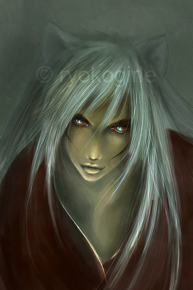 full demon inuyasha by ryokogirle