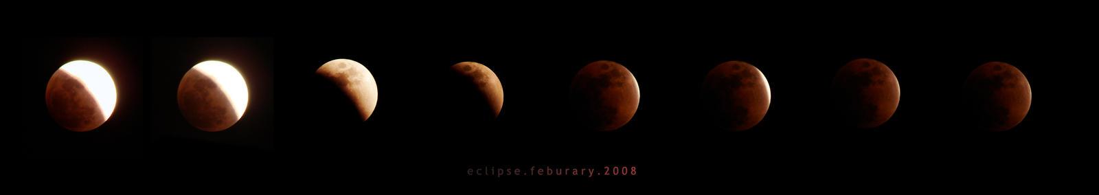 lunar eclipse by ryokogirle