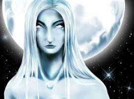 lunar goddess by ryokogirle