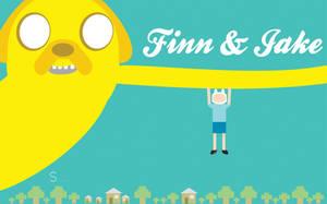 Adventure time Wallpaper by serekis