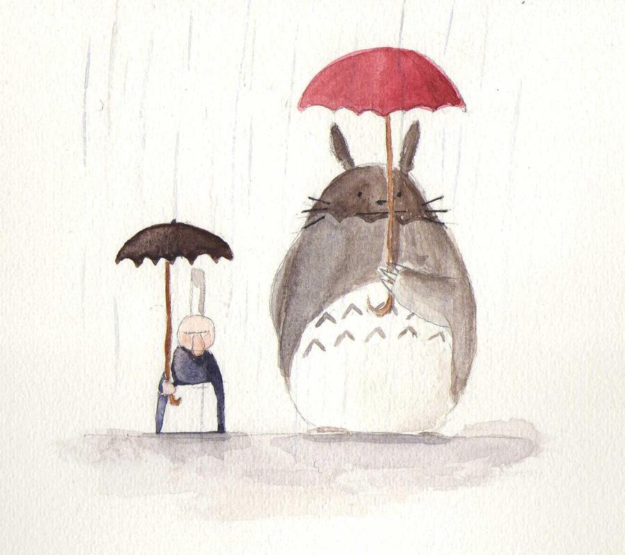 Totoro no tonari by mopixit