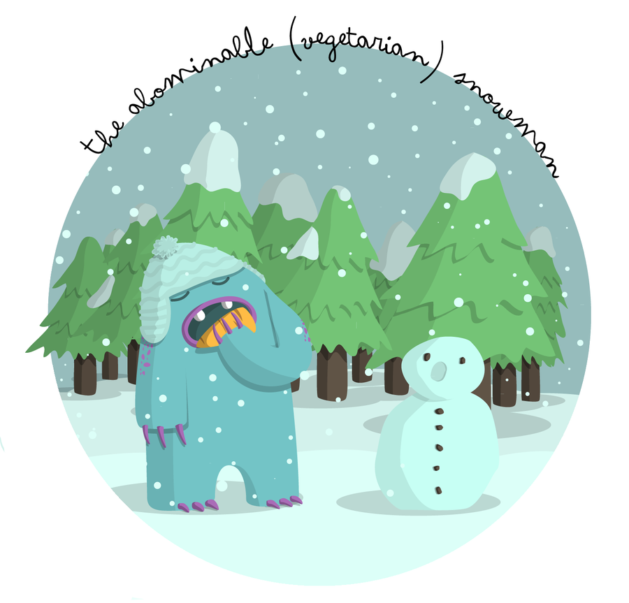 The abominable snowman by mopixit