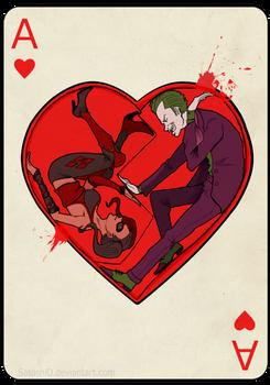 Joker X Harley - valentine card