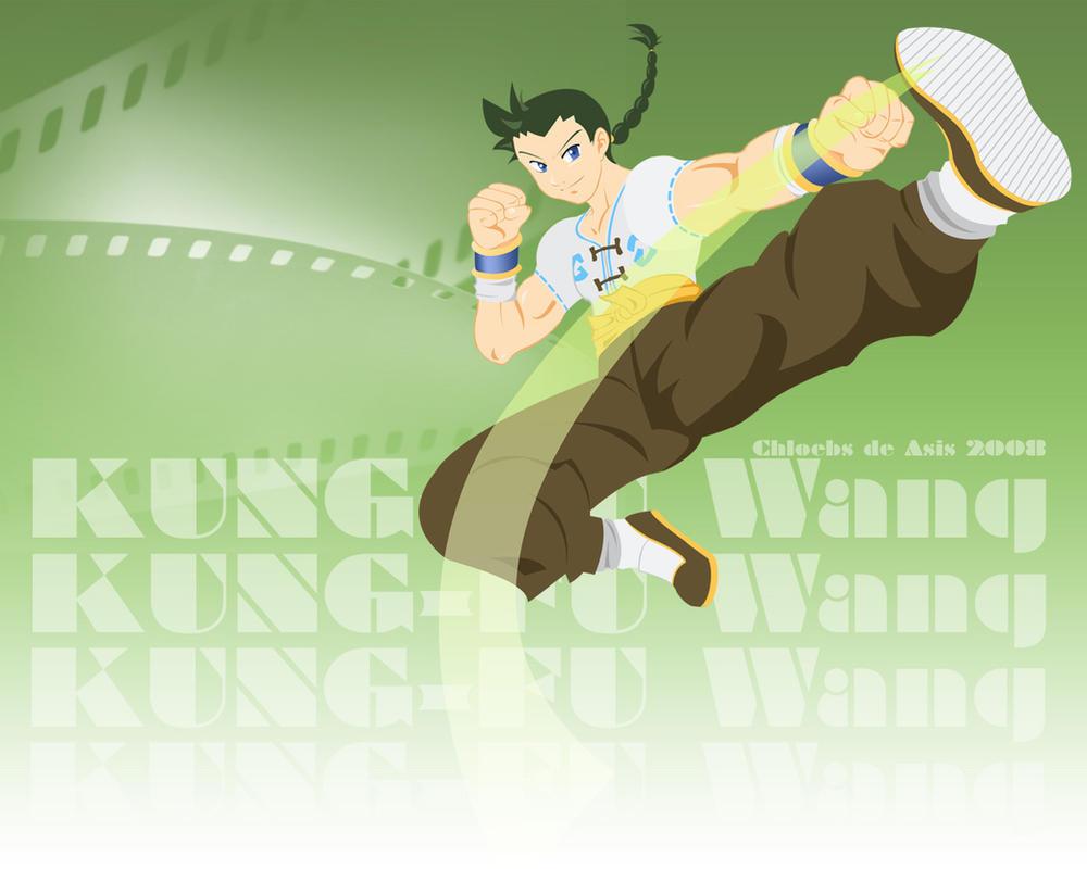 Kung-Fu Wang by chloebs
