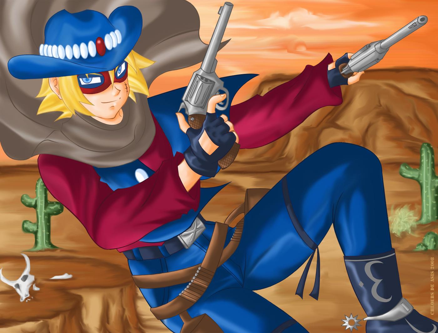 The Lone Gunman by chloebs