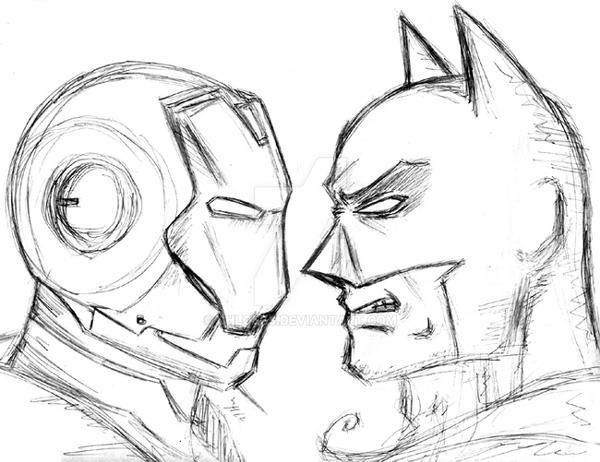 Ironbats Sketch by chloebs