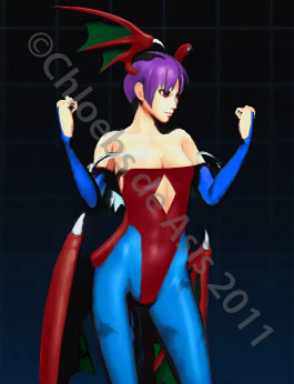 Lilith MvC3 by chloebs
