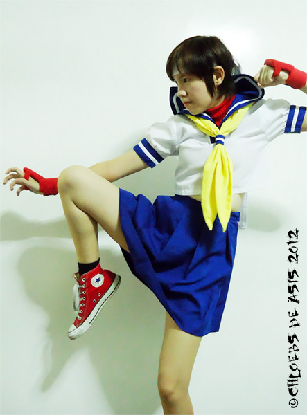 Sakura Kasugano 2012 by chloebs
