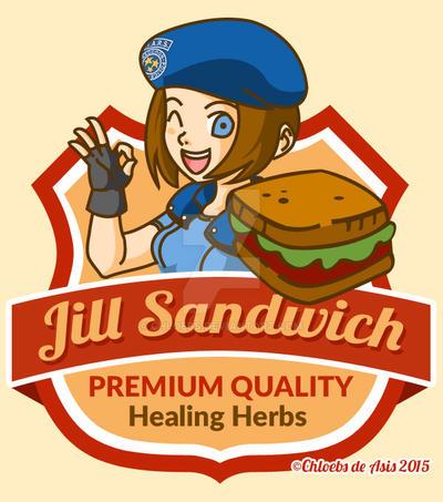 Jill Sandwich by chloebs