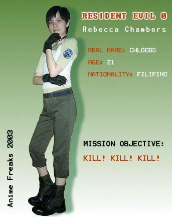 Rebecca Cosplay by chloebs