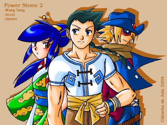 Power Stone Trio by chloebs