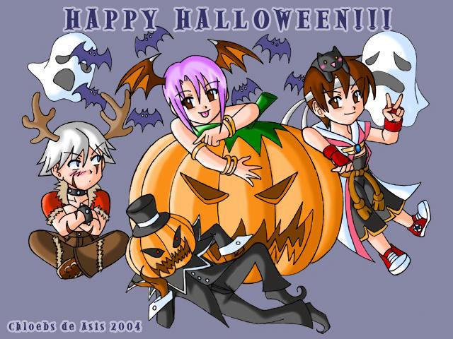 Ragnarok Halloween by chloebs