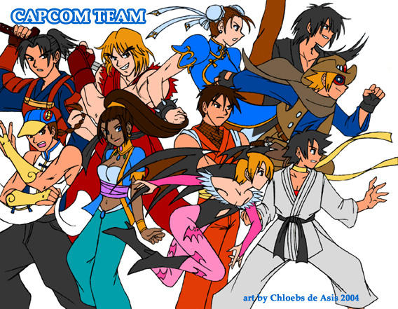 Capcom Team Cosplay Plan by chloebs