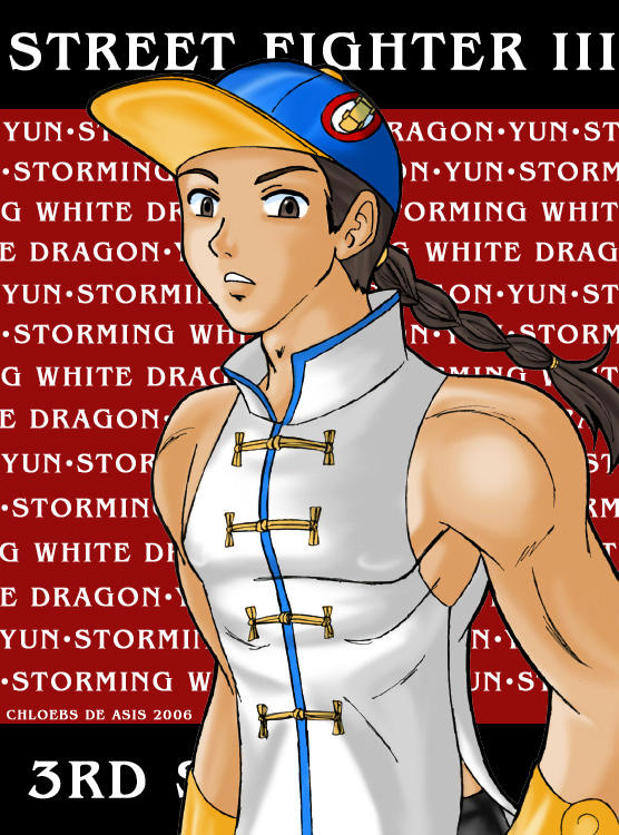 Yun: Storming White Dragon by chloebs