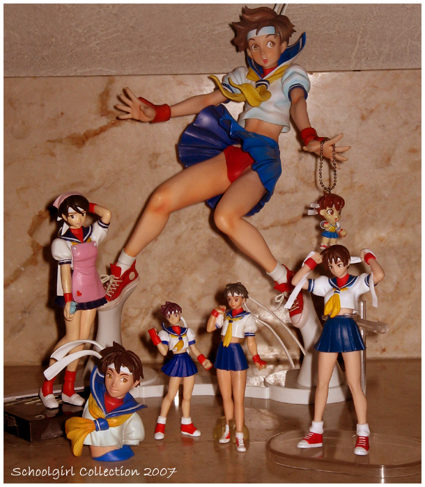 Schoolgirl Figure Collection by chloebs