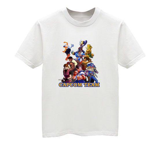 Capcom Team Shirt by chloebs
