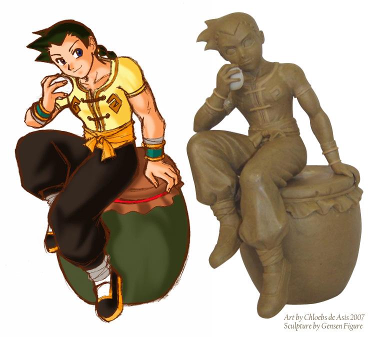 1st Power Stone Figurine v 1.0 by chloebs