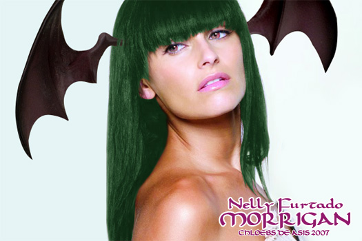Nelly Furtado as Morrigan by chloebs