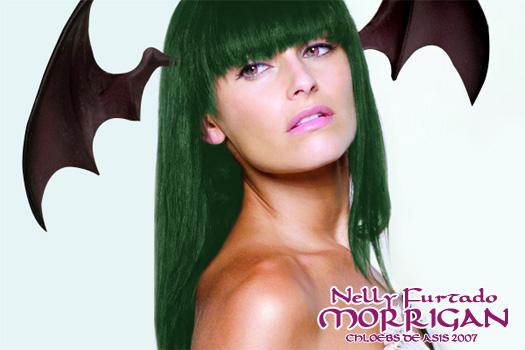 Nelly Furtado as Morrigan by chloebs