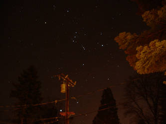 Clear Orion Sky by animetedskier