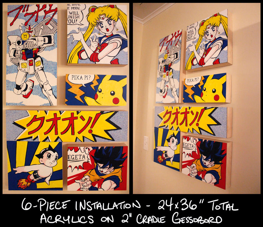 POP FUSION - OOAK Art Installation by KrisRix