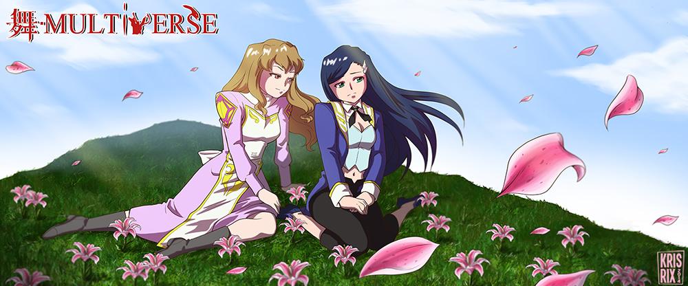 Commission for ShizNat4EVER - Shizuru and Natsuki by KrisRix