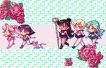 Outer Senshi - Chibis