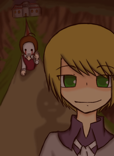 Pewdiepie and Cry WITCH HOUSE by volpe-nera on deviantART