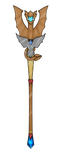 Dragon staff design Contest Entry by PsychicDuelistRBD