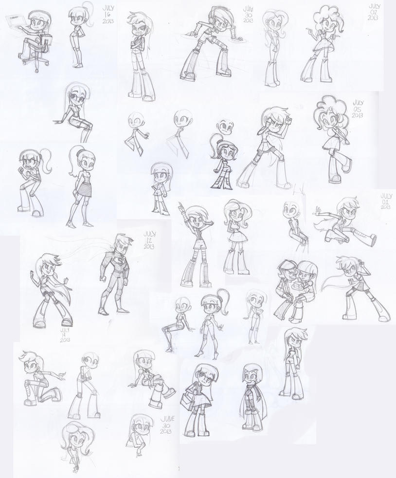 how to draw mlp equestria girl