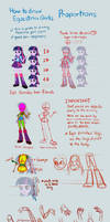 Equestria Girls Tutorial: Proportions