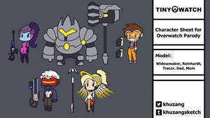 Tiny-Watch - Character Roster update