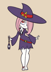 Sucy - Little Witch Academia by Khuzang