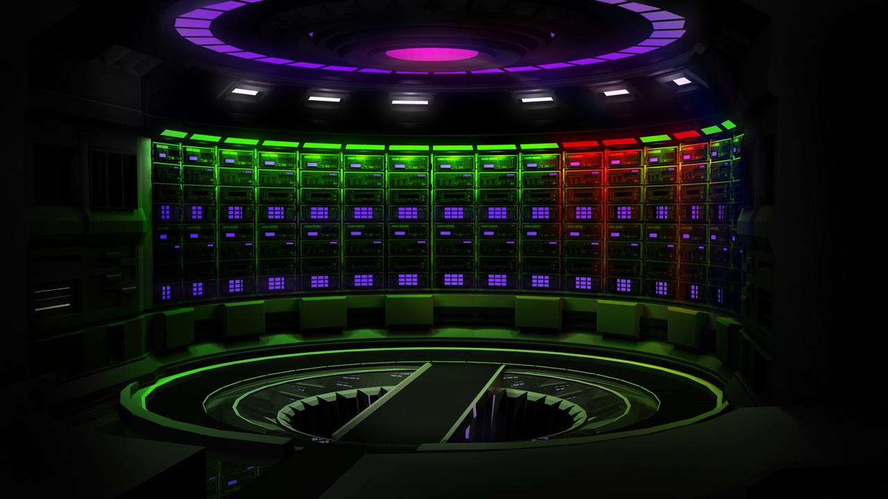 Server Room Lighting Design Standards