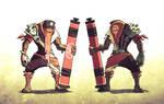 Monk Warrior of the Desert... or smthing...