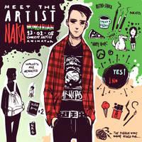 ART CHALLENGE - meet the artist