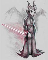 Sith Maleficent by R0B0TNiNJA